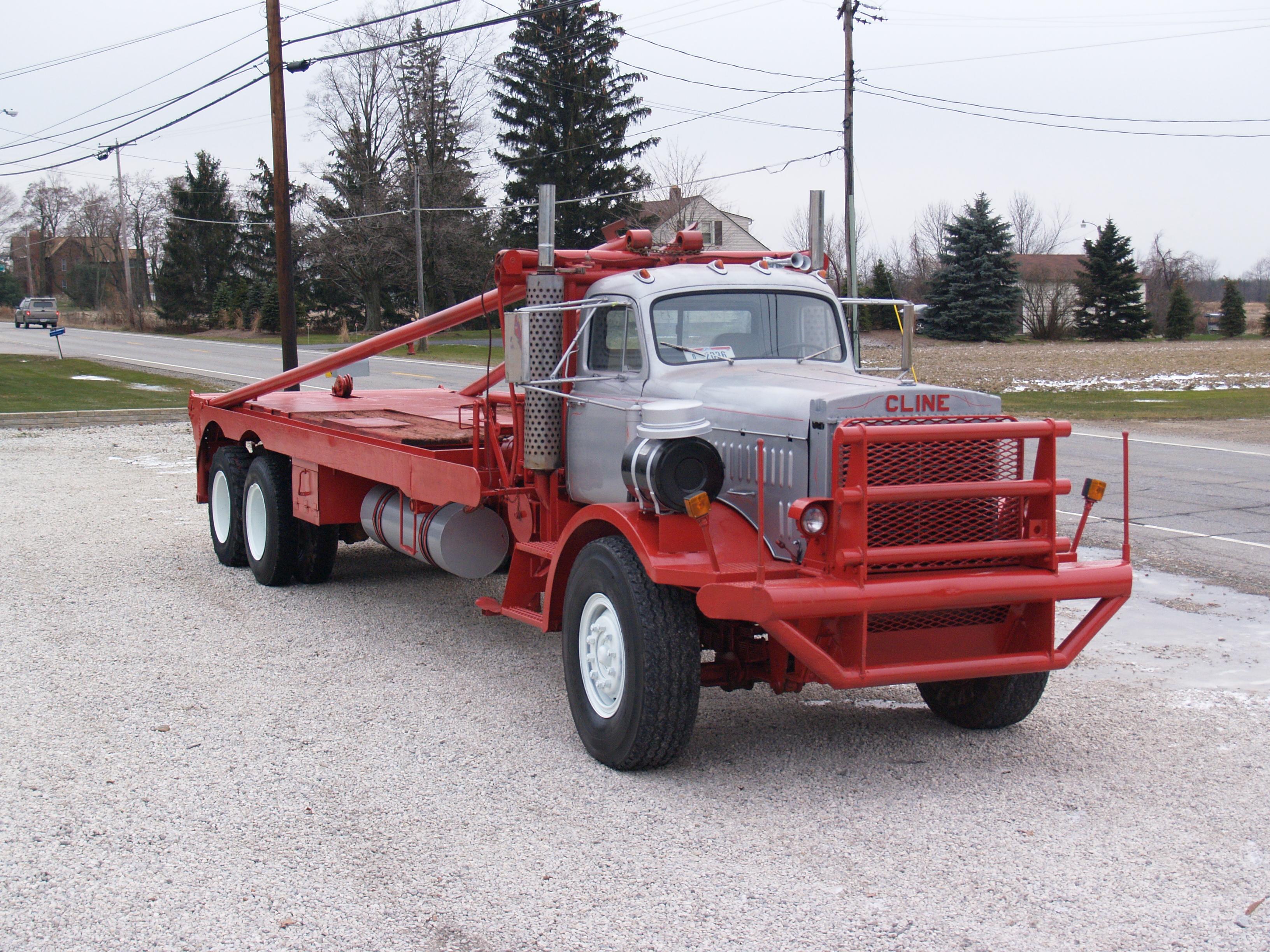 Cline Super Winch Truck Tri Axle