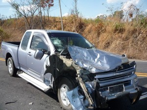 Pick Up Truck Accident