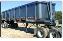 ScrapStart, Mark II 52-cubic yards Frameless Scrap Trailer