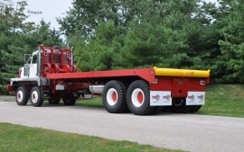 Picture of New Western Star Twin Steer Winch Bed Truck 11Ft  wide 110,000 Planetary rears