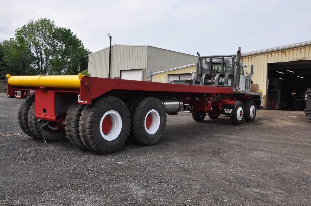 Winch Bed Truck Twin Steer 110 000 Planetary Rears
