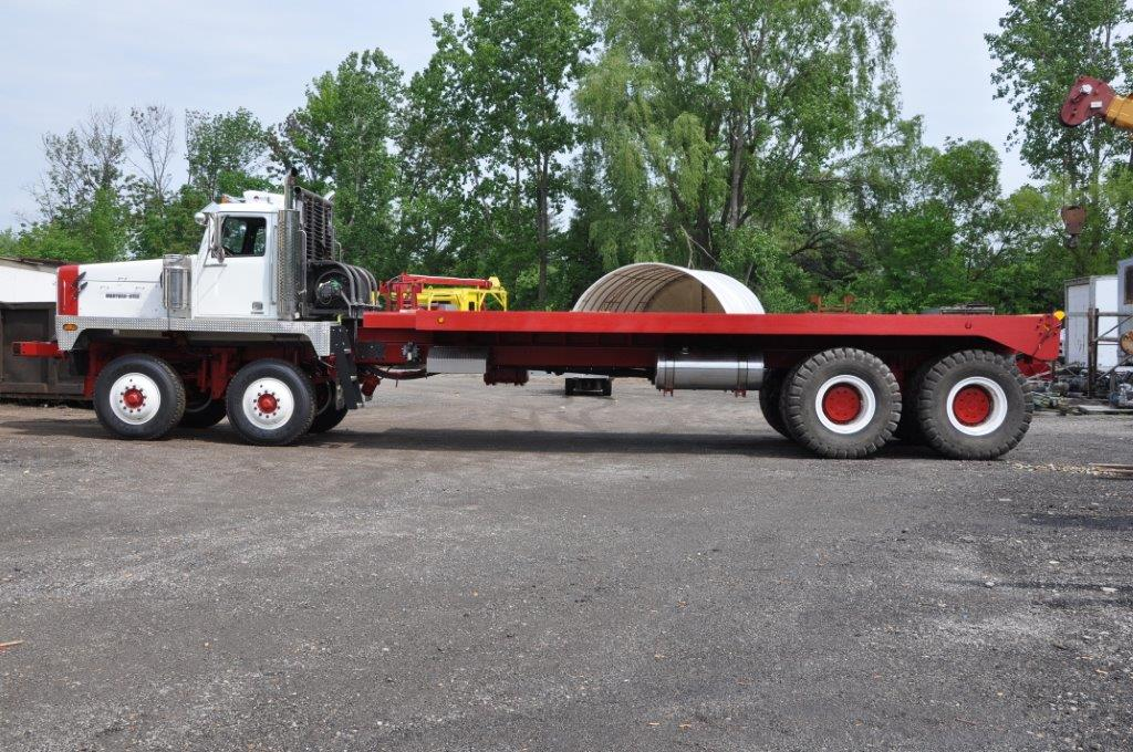Winch bed truck tiger general - Dump truck twin bed ...