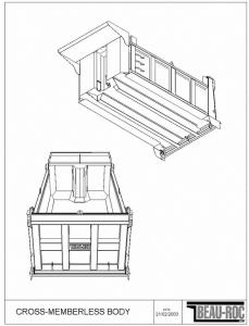 dump truck bodies for sale tiger general llc. Black Bedroom Furniture Sets. Home Design Ideas